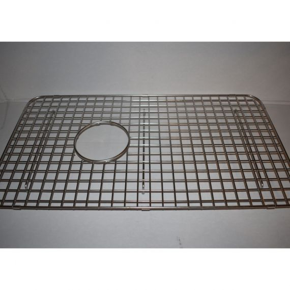 "La Cornue 26.5"" Stainless Single Bowl Sink Grid"