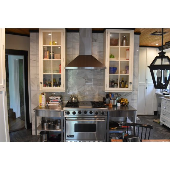 Light Grey Oak Transitional New Never Used Kitchen