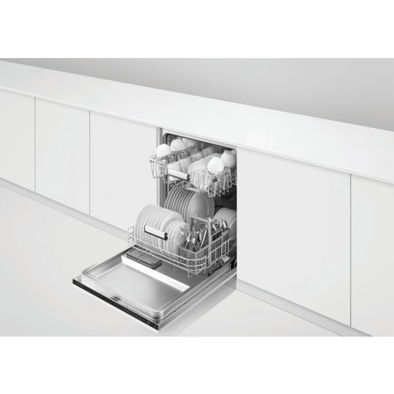 """Fisher & Paykel 24"""" Fully Integrated Panel Ready Dishwasher"""