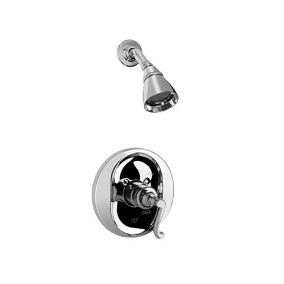 Graff Elegante Polished Chrome Pressure Balance Shower Set