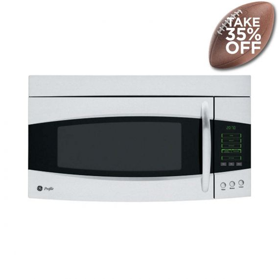 """GE Profile 30"""" Stainless Over-The-Range Microwave"""