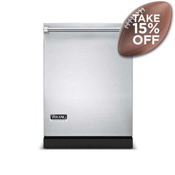 "Viking Professional 24"" Stainless Fully Integrated Dishwasher"
