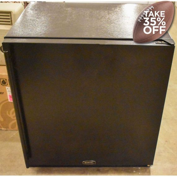 "Marvel 30"" Black Under-Counter Refrigerator/Freezer"
