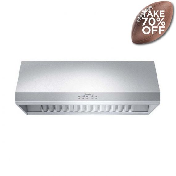 """Thermador Professional 48"""" Stainless Hood No Blower"""