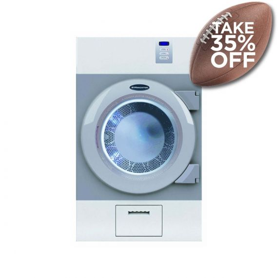 """Crossover 27"""" Grey Commercial Gas Dryer"""