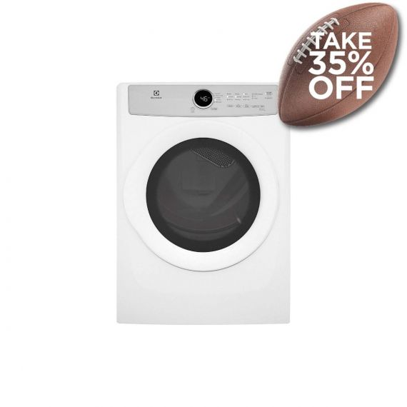 """Electrolux 27"""" White Electric Front Load Dryer w/ Gentle Tumble 2020"""