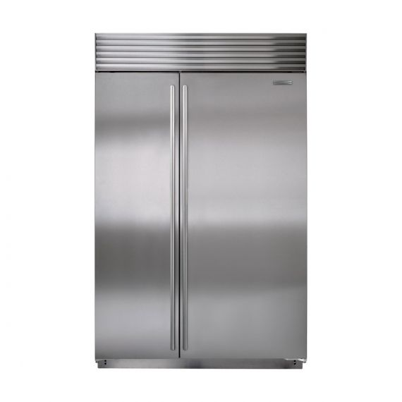 "Sub-Zero 48"" Stainless Side X Side Refrigerator"