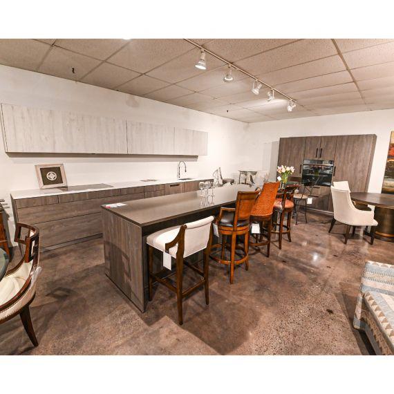 Bauformat Stormy Sky Modern Showroom Display Kitchen