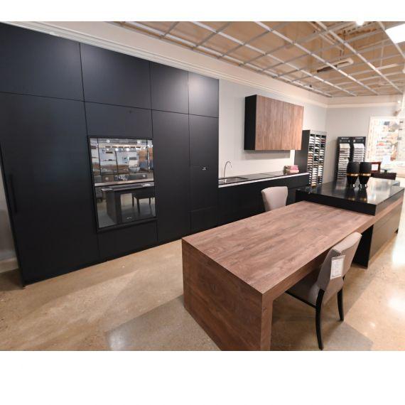 Bauformat Black Grey Modern Showroom Display Kitchen