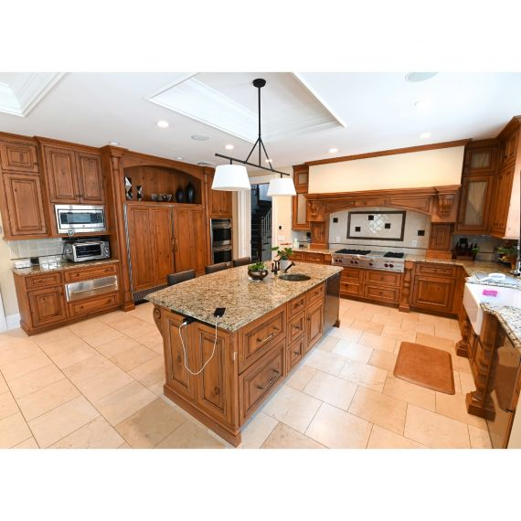 Peter Salerno's Home Sweet Home Traditional Kitchen & Desk Area