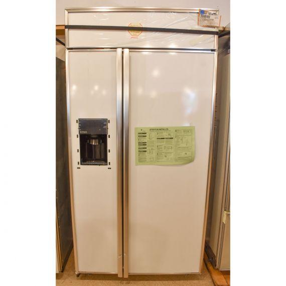 "GE Monogram 42"" Panel Ready Side X Side Refrigerator w/ Water Dispenser"