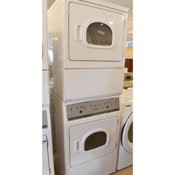 """Speed Queen 27"""" White Electric Stacked Dryers 2017"""