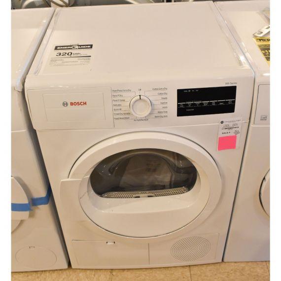 """Bosch 24"""" White Electric Dryer w/ 15 Programs"""