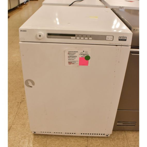 """Asko 24"""" White Electric Front Load Dryer 2015"""