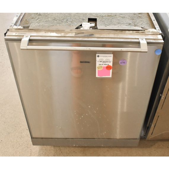 "Gaggenau 24"" Stainless Fully Integrated Dishwasher 2010"