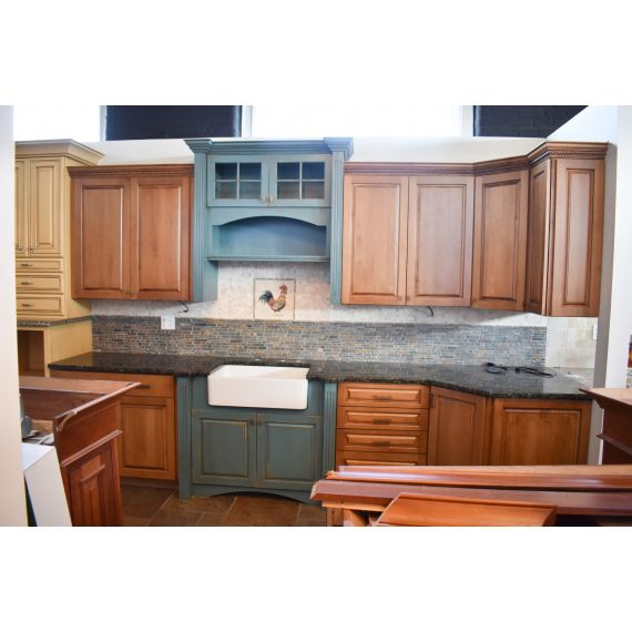 Decora Canyon Jade Traditional Showroom Display Kitchenette