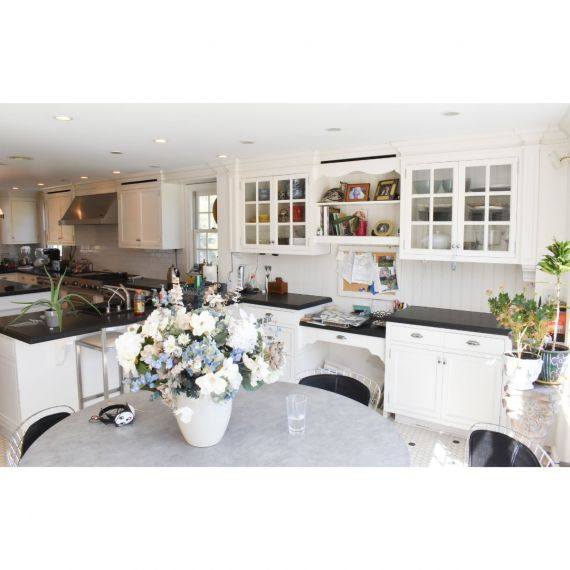 Custom Madonna Lily Traditional Pre-Owned Kitchen