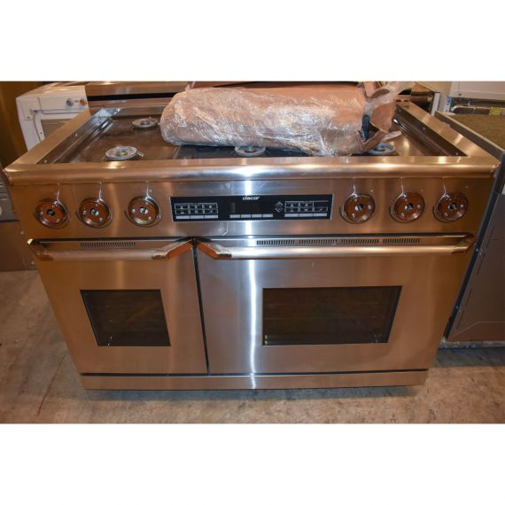 """Dacor 48"""" Stainless Gas Range"""