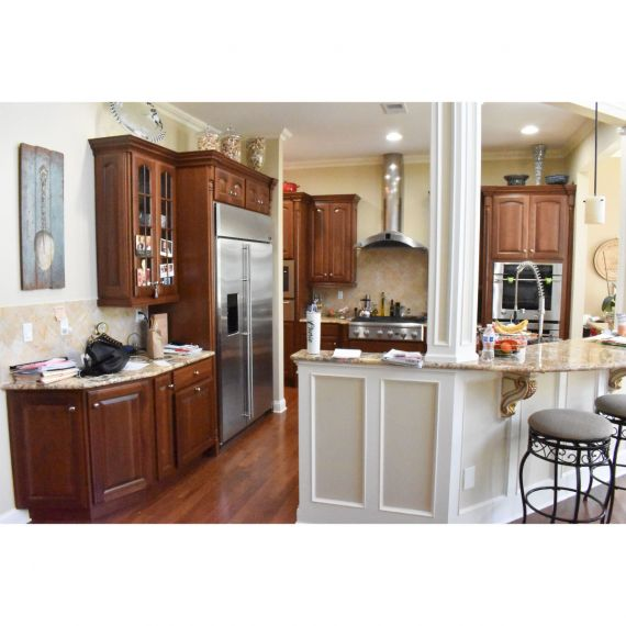 Decora Mink Traditional Pre-Owned Kitchen