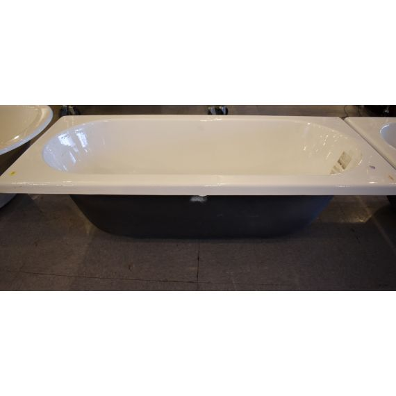 "Waterworks 71"" Caprice Cast Iron Bathtub"