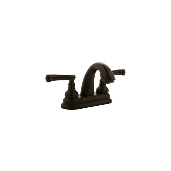 Graff Elegante Oil-Rubbed Bronze Braided Centerset Bath Faucet