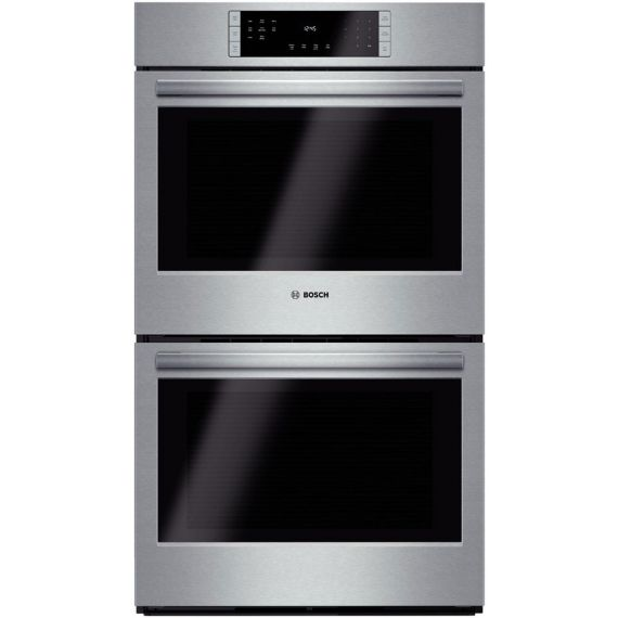 """Bosch 30"""" Stainless Electric Double Wall Oven w/ True Convection"""