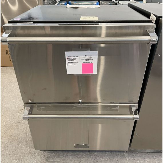 """Marvel 24"""" Stainless Under-Counter Refrigerator Drawers 2018"""