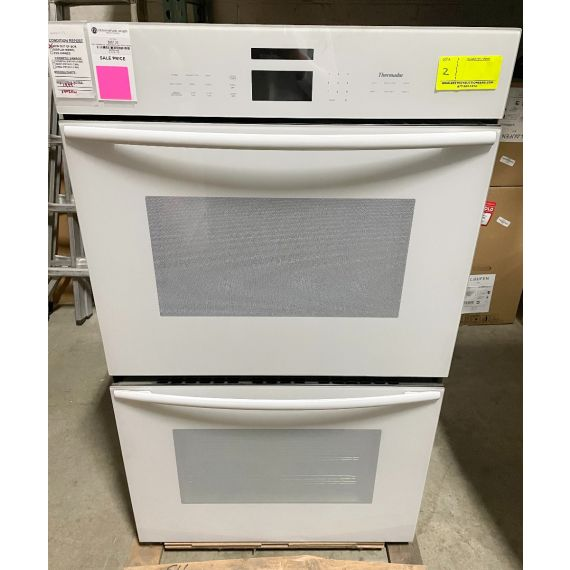 """Thermador 30"""" White Double Wall Oven w/ Convection"""