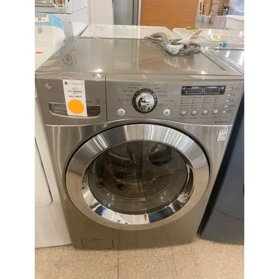 """LG 27"""" Gray Front Load Washer"""