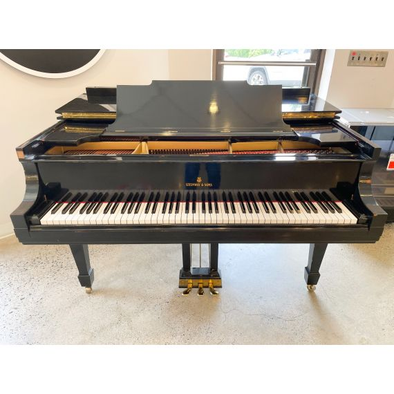 100 Year Old Steinway Grand Piano