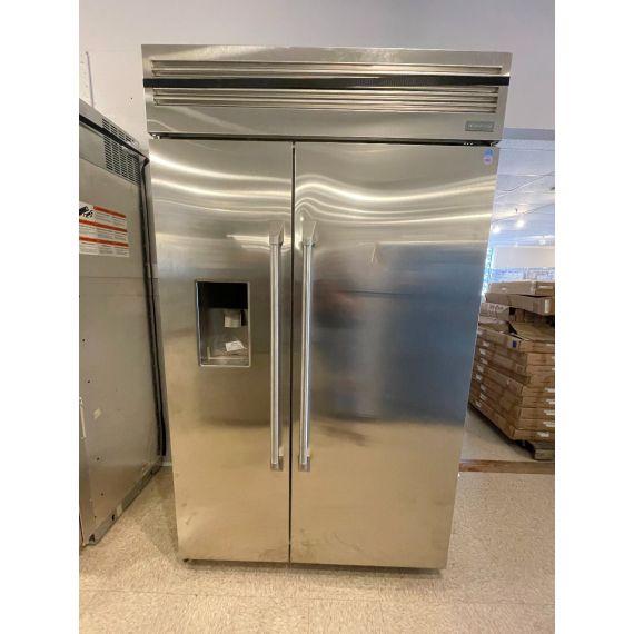 "GE Monogram 48"" Stainless Side X Side Refrigerator"