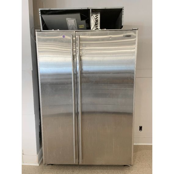 "Sub-Zero 48"" Stainless Steel Side X Side Refrigerator"