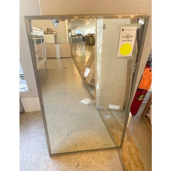 Chrome Framed Mirror