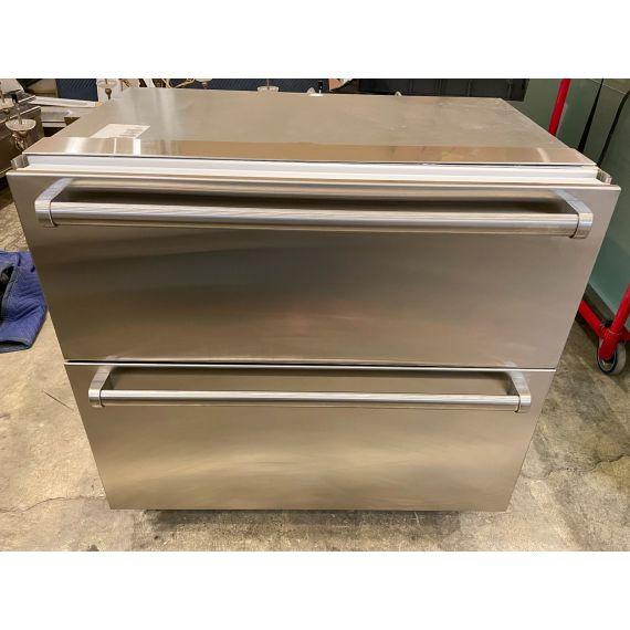 "Sub-Zero 36"" Stainless Integrated Smart Refrigerator Drawers"