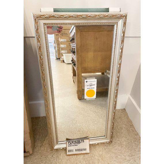 """Robern 30"""" Laurel Silver Medicine Cabinet"""