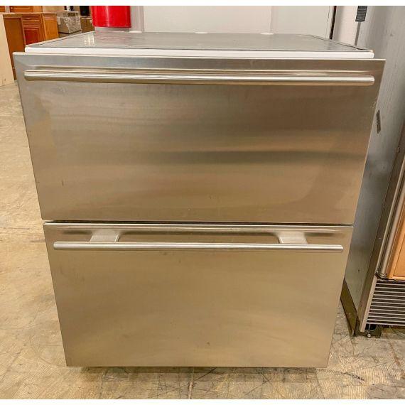 "Sub-Zero 27"" Stainless Refrigerator Drawers 2007"