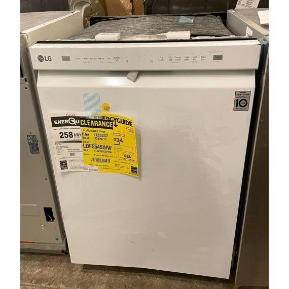 """LG 24"""" White Console Dishwasher 2020"""
