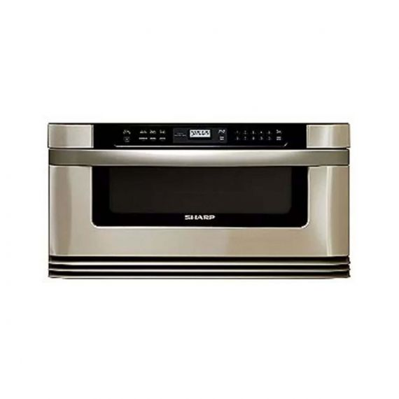 "Sharp Insight 30"" Stainless Built-In Microwave Drawer"