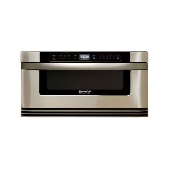 "Sharp Insight Pro 30"" Stainless Built-In Microwave Drawer"