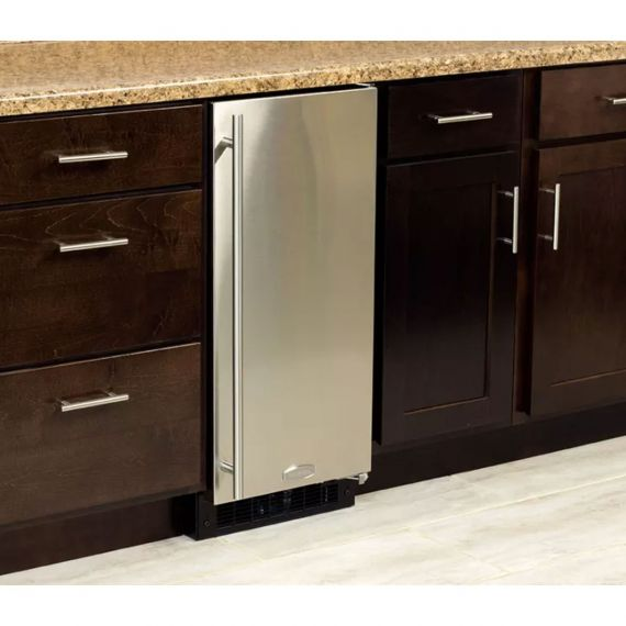 "Marvel 15"" Stainless Built-In All Refrigerator"