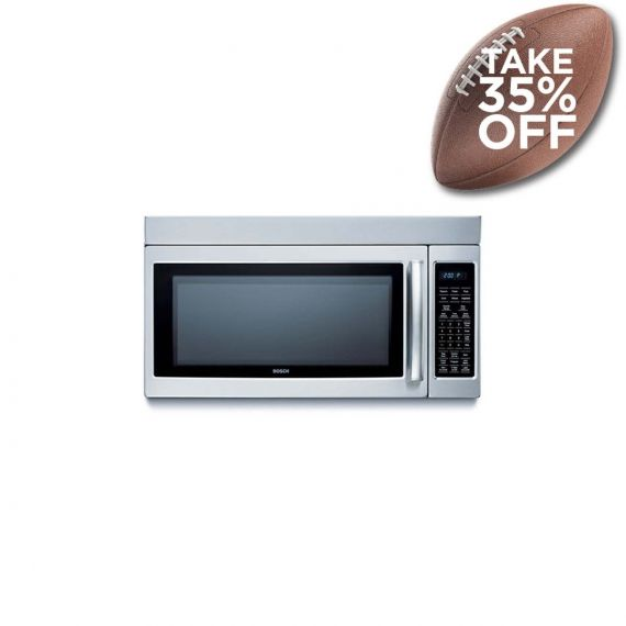 """Bosch 30"""" Stainless Over-The-Range Microwave"""