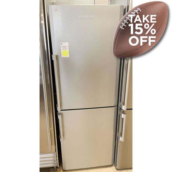 "Blomberg 24"" Stainless Bottom Freezer Refrigerator"