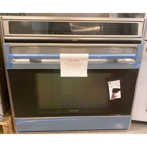 """Wolf 30"""" Stainless Single Wall Oven w/ Convection"""