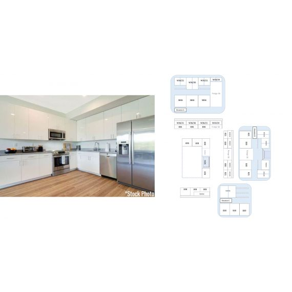 BRAND NEW BIG Miami Beach Modern Kitchen w/ Island & Dry Bar