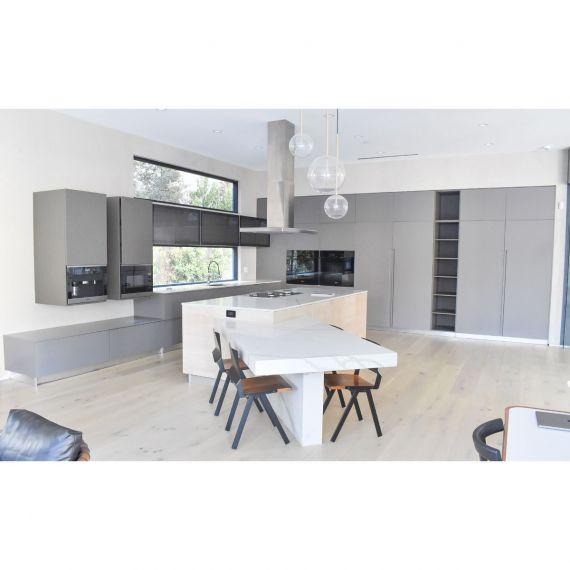 Custom Fireside Grey Modern Pre-Owned Kitchen