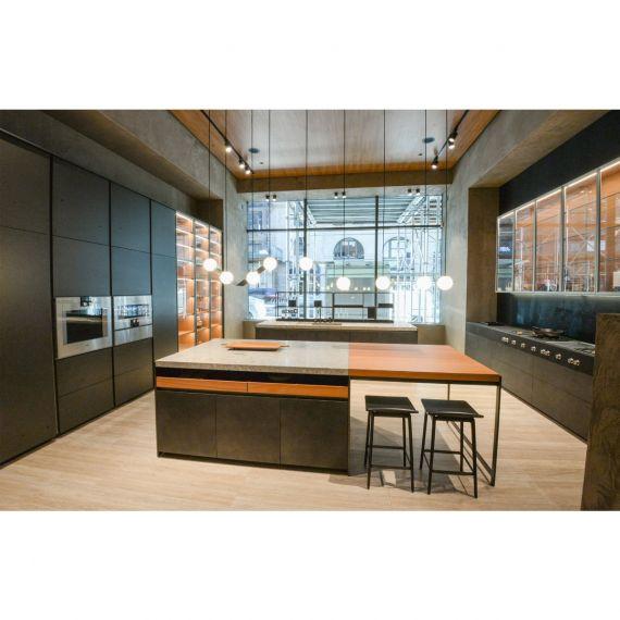 Molteni&C Dada Gray & Ebony Field Showroom Display Kitchen