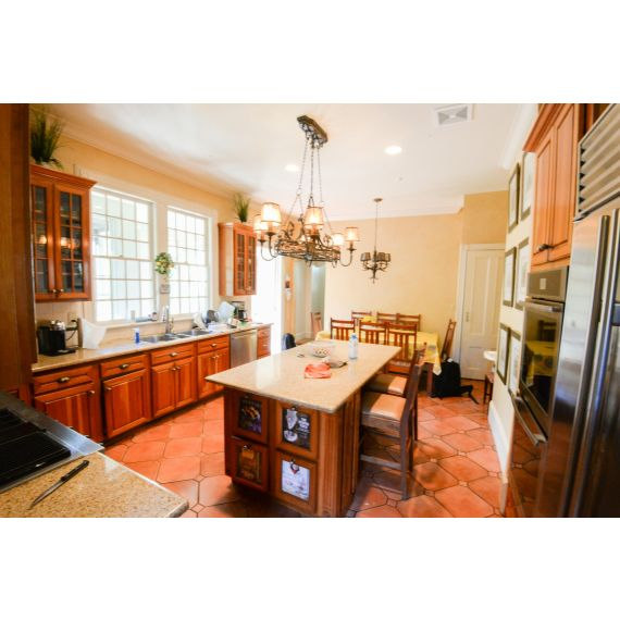 Bertch Toffee Traditional Pre-Owned Kitchen