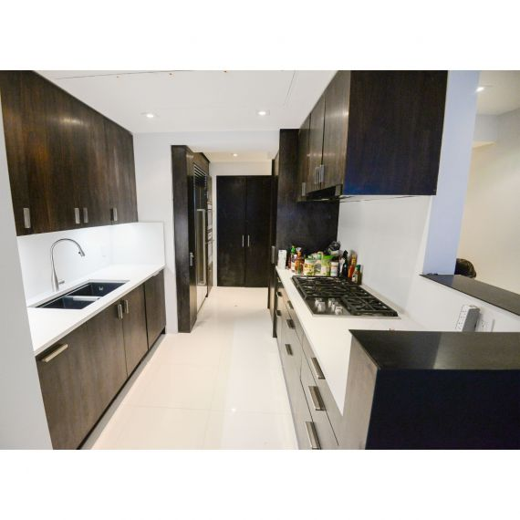 Kodiak Dark Modern Pre-Owned Kitchen