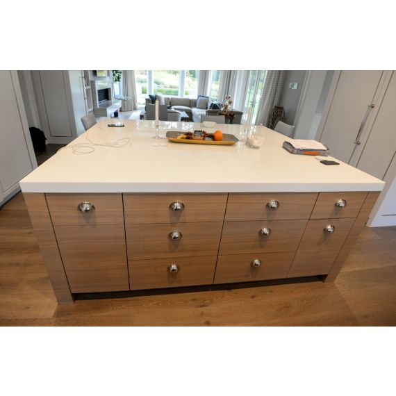 Taupe Modern Pre-Owned Island
