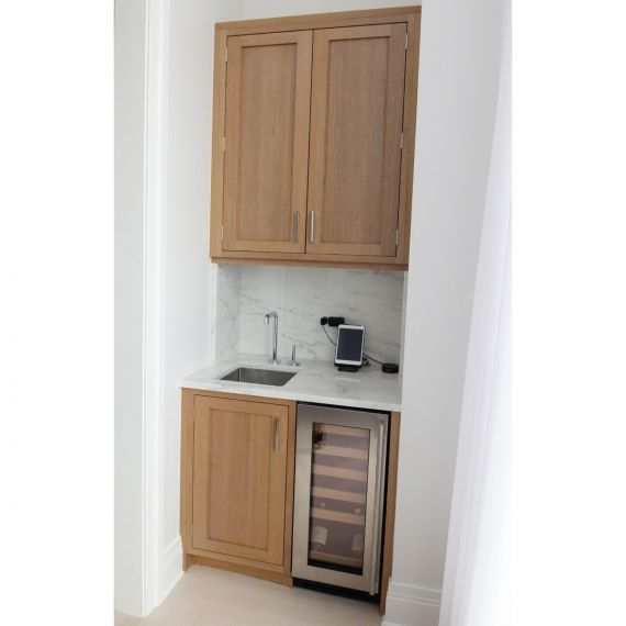 Cashew Transitional Pre-Owned Wet Bar
